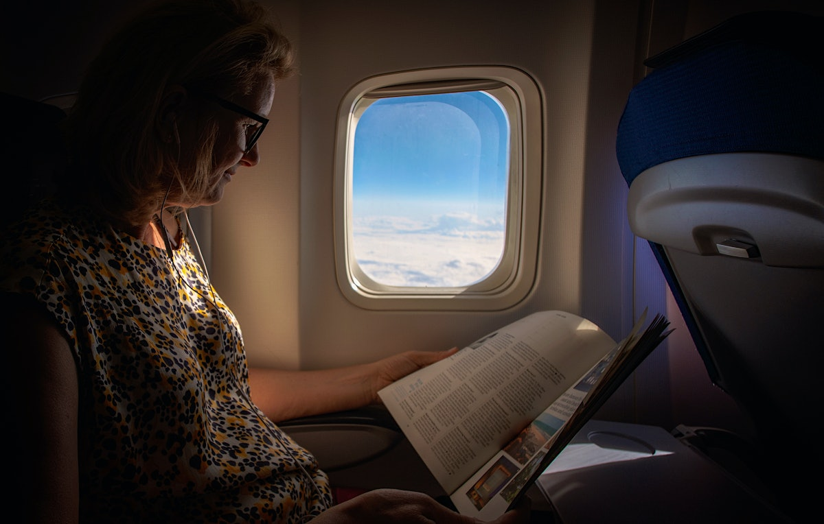 Check the seat pocket in front of you: can inflight magazines survive Covid-19