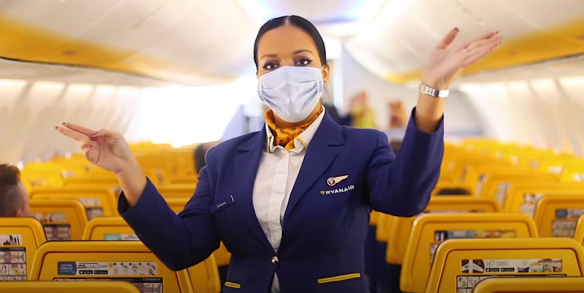 Ryanair retomará voos até 1 de julho com novas regras para passageiros