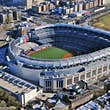 NEW YORK CITY - APRIL 6: The New Yankees Stadium on April 6th, 2012. It was achieved in 2009 and costed $ 1.5 bn. Home of the Yankees it is situated in the Bronx and can host 50000 for Baseball Games