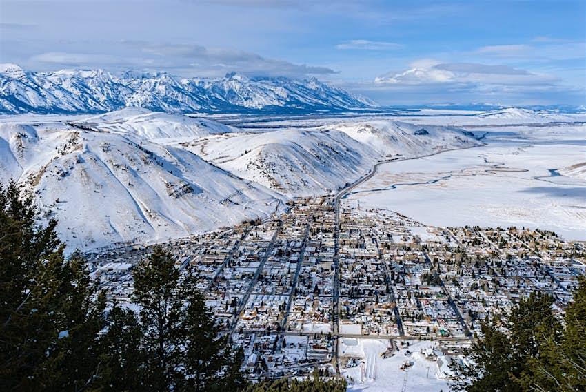 Jackson Wyoming and Teton Valley