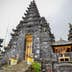 Exterior of Pura Besakih, the black temple.