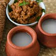 Palm Wine or Coconut Toddy popular Drink in Kerala India. It is a alcohol produced from coco tree and very commonly used in Tuvalu. Good combination with spicy hot fish or meat curry; Shutterstock ID 559375078; Your name (First / Last): AnneMarie McCarthy