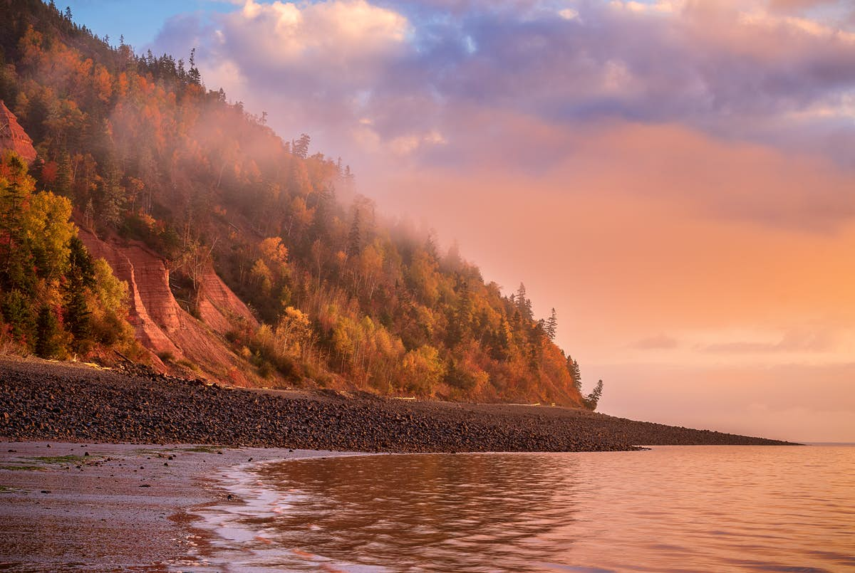 Nova Scotia's Cliffs of Fundy are now a UNESCO Global Geopark
