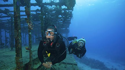 Explore ancient shipwrecks in Greece's first underwater museum
