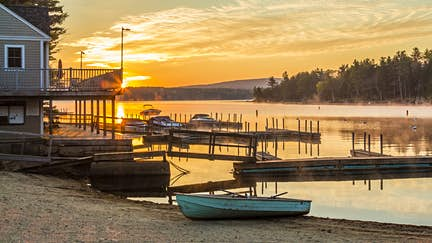 Lake Sunapee in New Hampshire