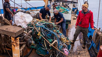 Record amount of plastic recovered from largest ever ocean clean-up
