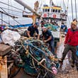A record amount of waste has been removed © Jackson McMuldren / Ocean Voyages Institute