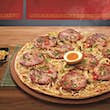The ramen pizza is available at Pizza Hut Taiwan for a limited time © Pizza Hut Taiwan