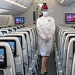 Qatar Airways will require you to wear a mask and a shield © Qatar Airways