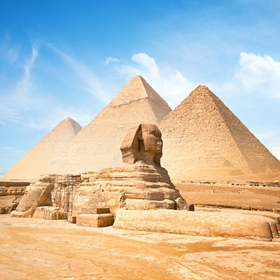 Getting to know the Pyramids of Giza