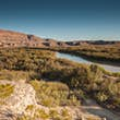 Rio Grande river at Big Bend National Park, USA