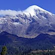 Pico de Orizaba volcano, or Citlaltepetl, is the highest mountain in Mexico.