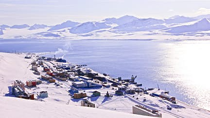 Barentsburg - The northernmost inhabited island of the world