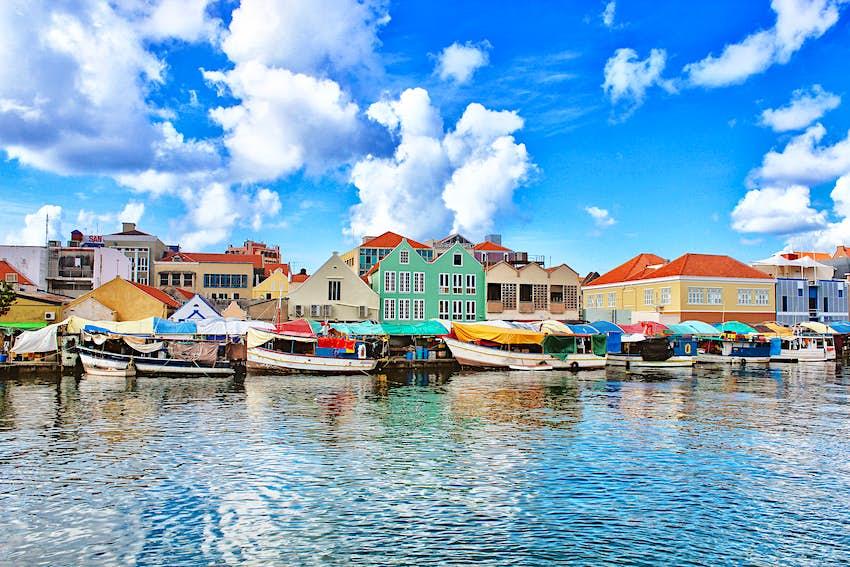 Floating market, Punda, Willemstad, Cura?ao