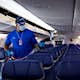 Southwest planes undergo a deep electrostatic cleaning once a month  ©  Southwest Airlines