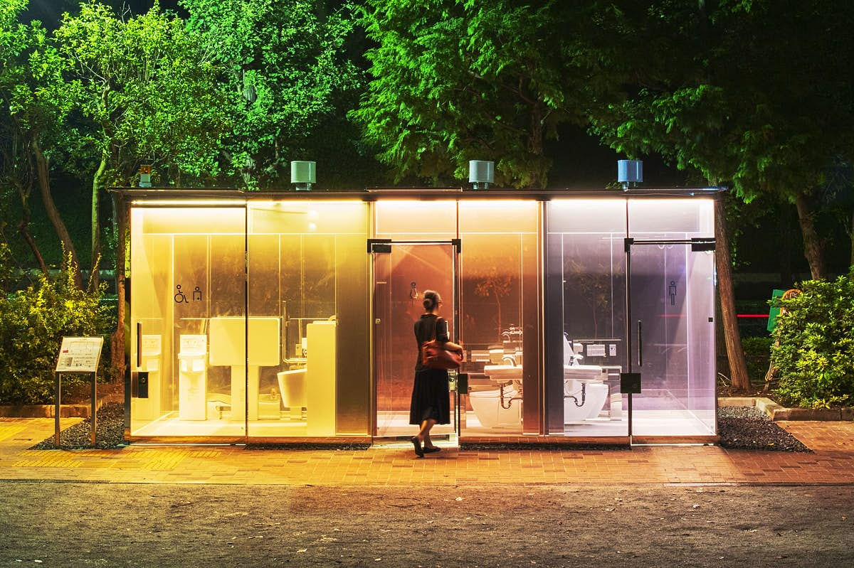 Transparent public restrooms are causing a stir in Tokyo - Lonely ...