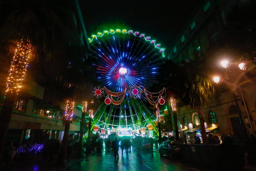 Christmas comes early in this Spanish city with the world's