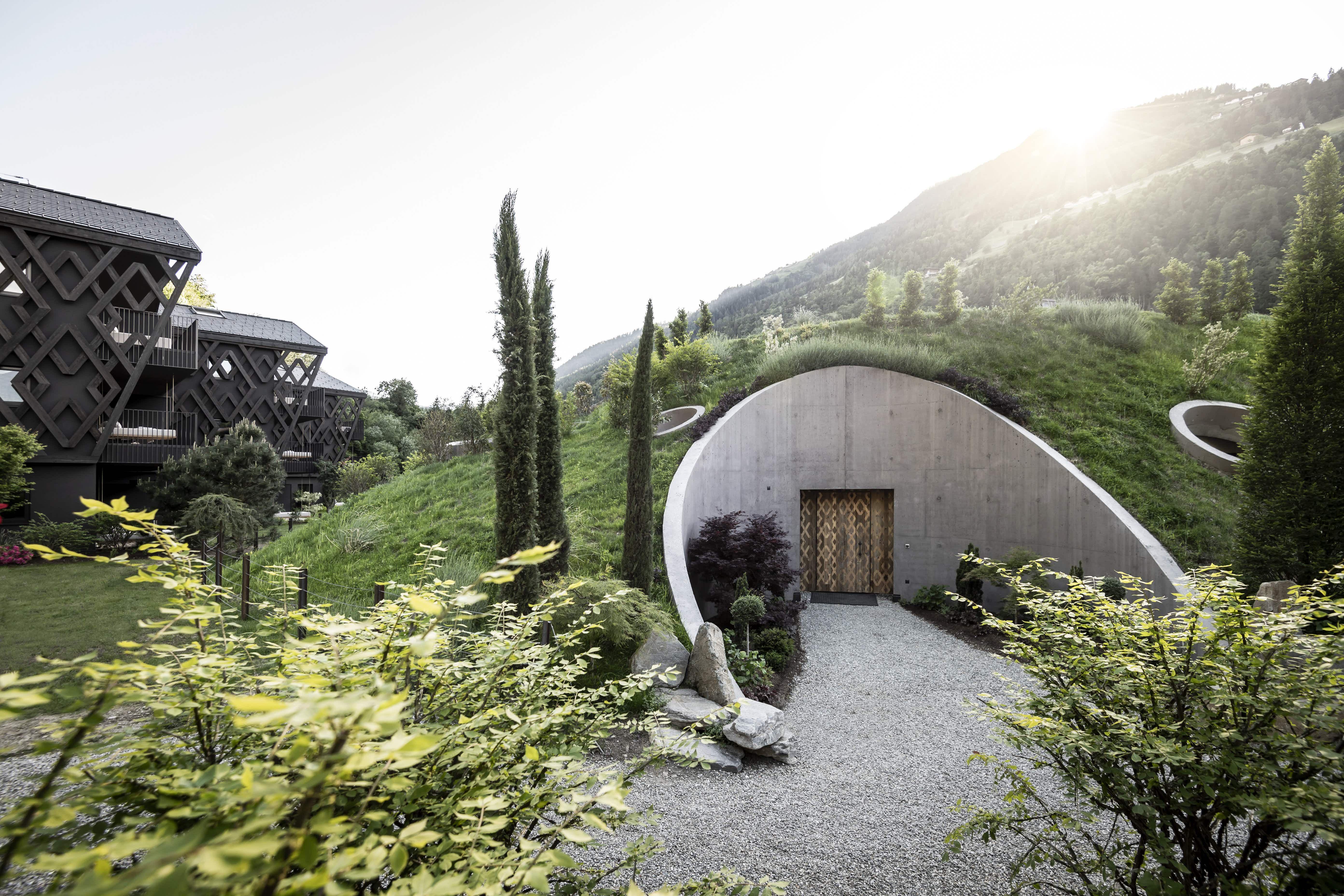 This Italian hotel has a new Tolkien-esque Hobbit hole