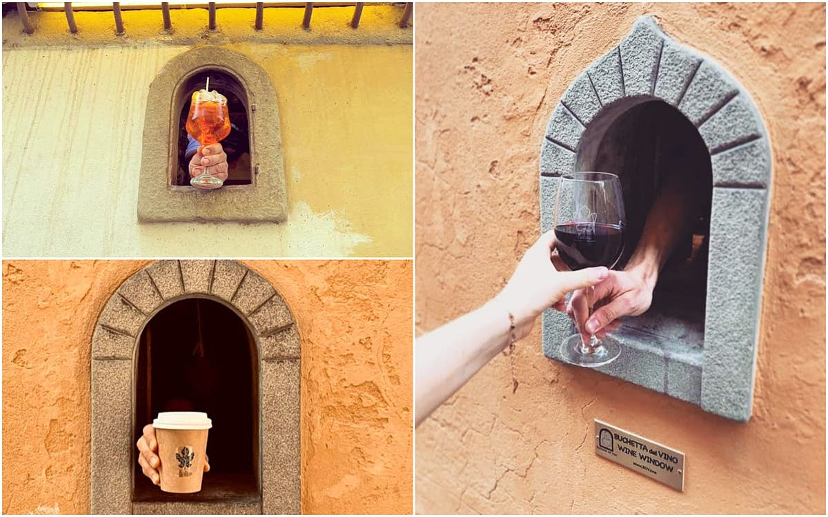 Italy revives its 17th-century wine windows to serve drinks to passers-by - Lonely Planet