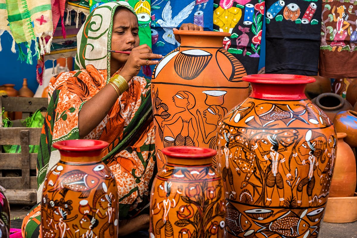 Indian rural artisans go online under COVID - Lonely Planet