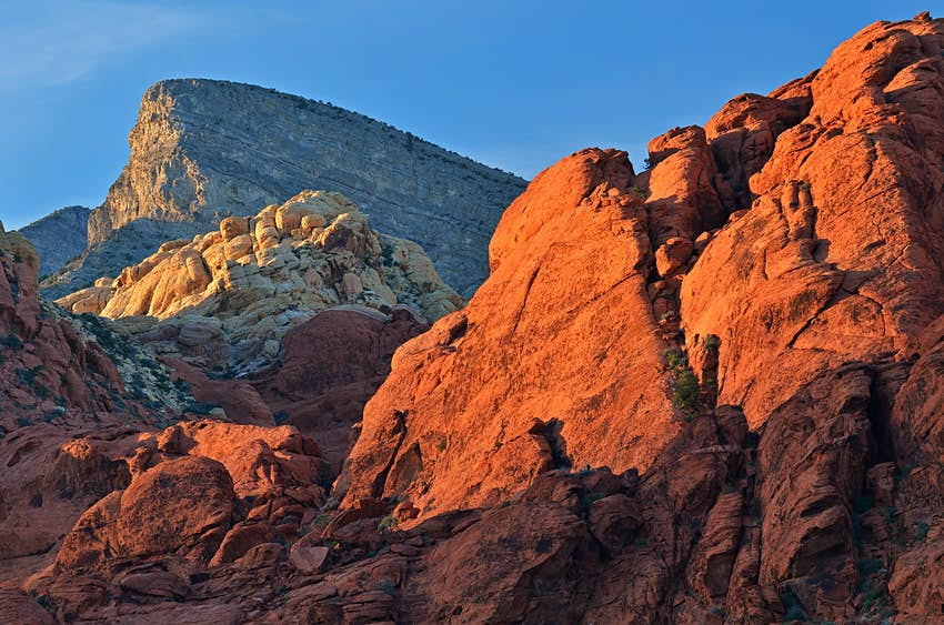 500px Photo ID: 6224684 - Rocky desert landscape at sunset, Red Rock Canyon National Recreation Area, Las, Vegas, Nevada, USA