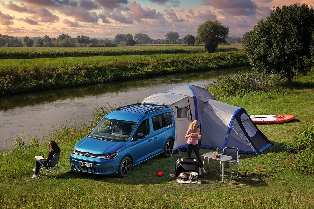 Volkswagen's new van can convert into a compact campsite on wheels - Lonely Planet