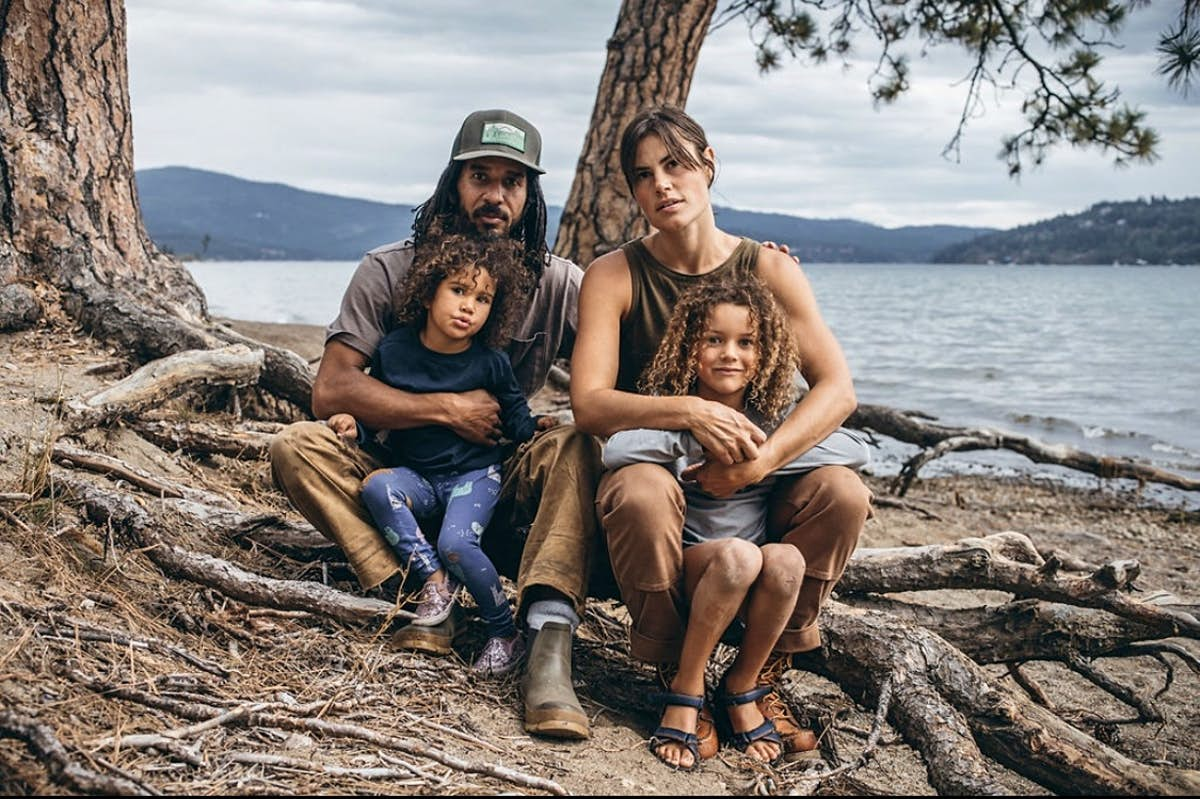 See how this family adapted to living, working and learning in an off-grid trailer