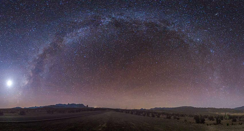 Starry skies at Big Bend National Park