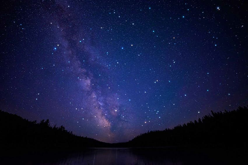 Starry skies at North Cascades National Park