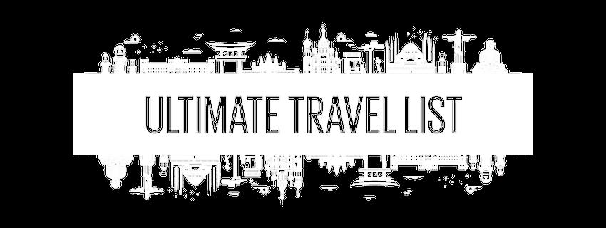 Ultimate Travel List