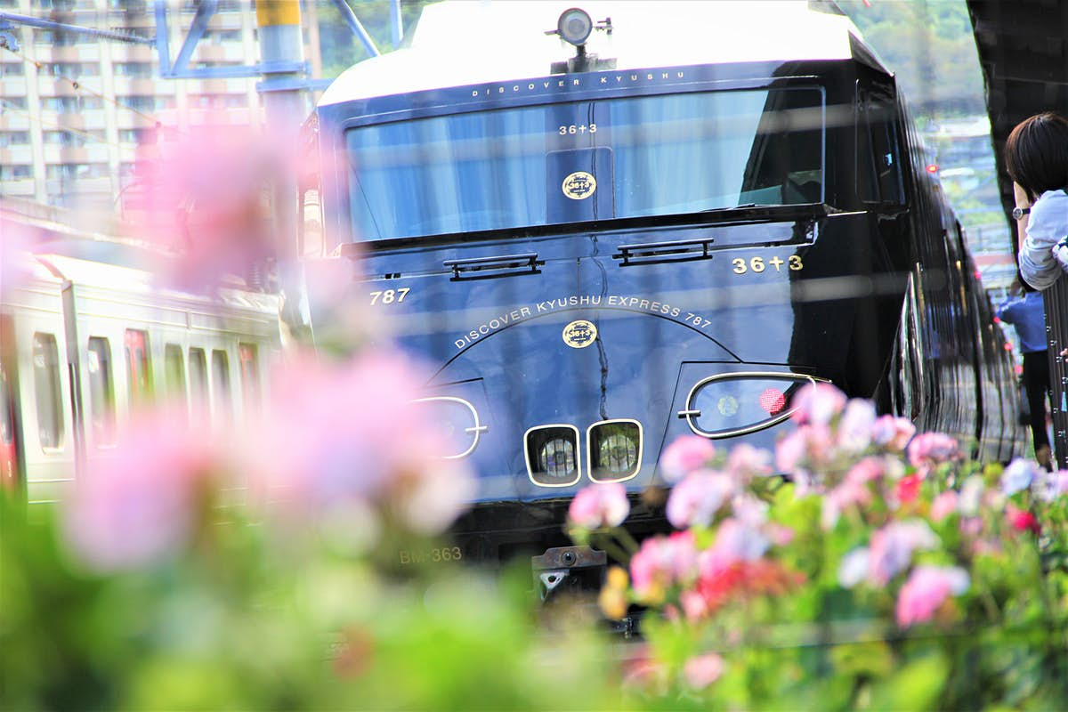 Take a trip to an under-the-radar island on a new sightseeing train in Japan