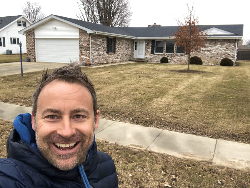 Lonely Planet writer Kevin Raub visited his childhood home in Indiana