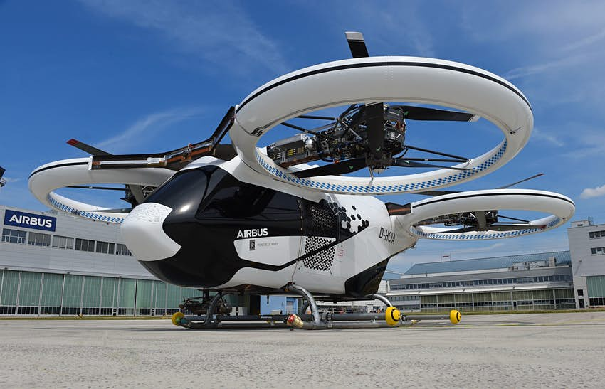 Is the Airbus flying taxi ready for take-off? - Lonely Planet