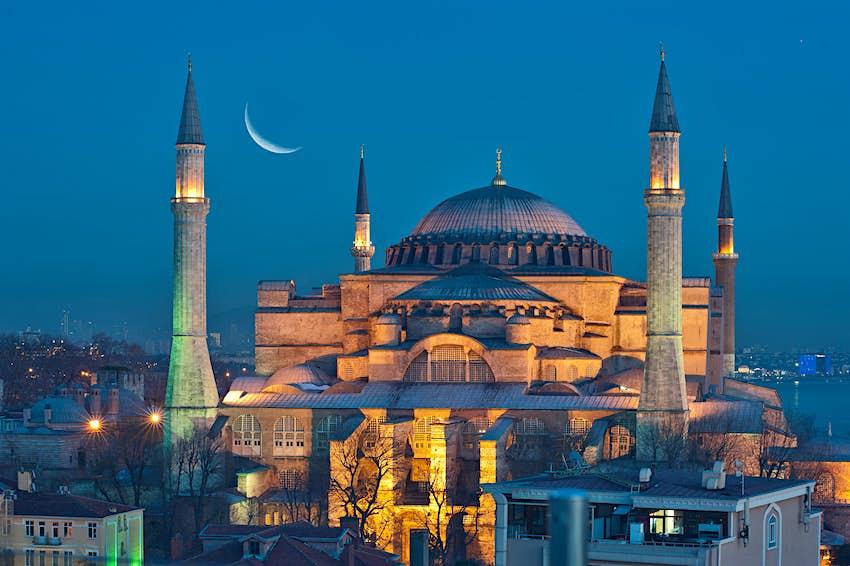Hagia Sophia, Sultanahmet, Istanbul, Turkey.
