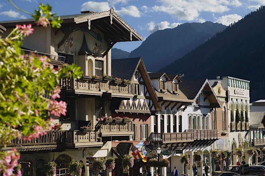 Bavarian-style village in Leavenworth, Washington