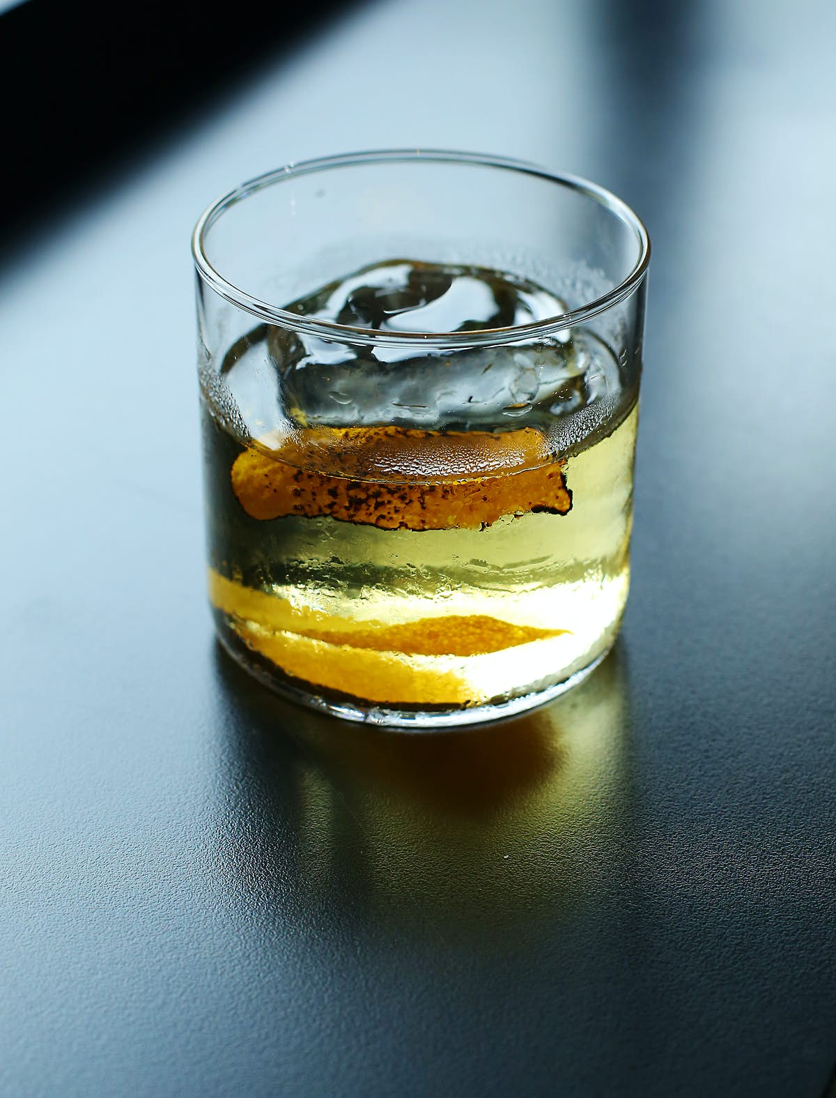 How to make a American (New York style) Mezcal Old Fashioned