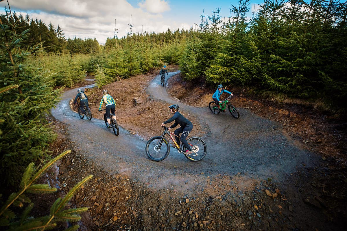 The UK's longest mountain bike trail for beginners is now open - Lonely Planet