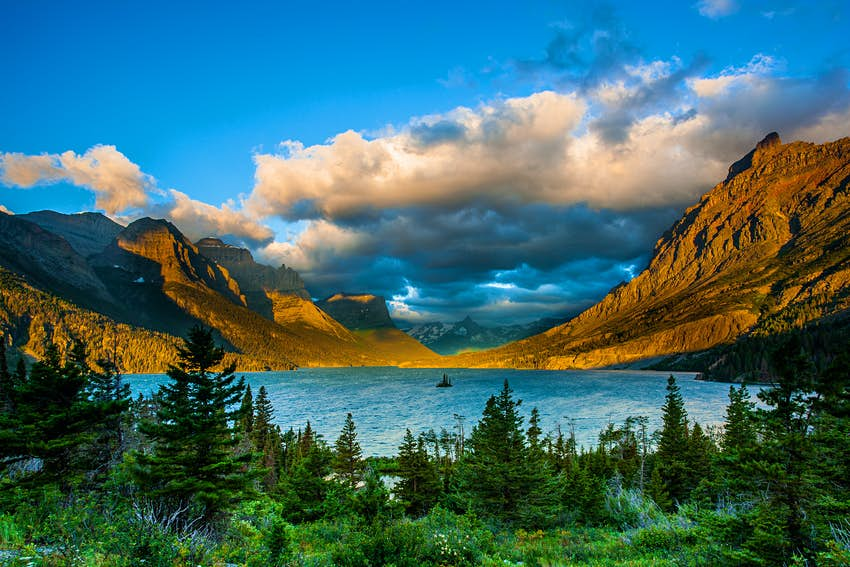 Wild goose island viewpoint, Glacier National Park