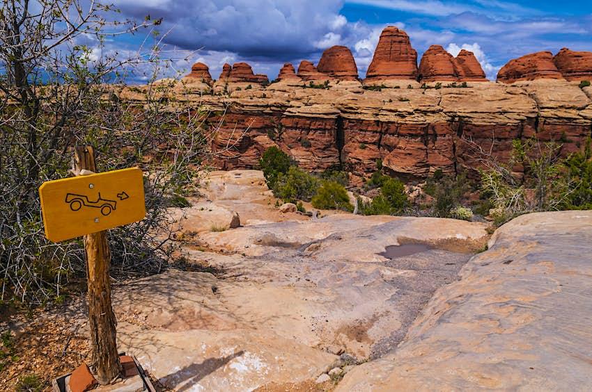 Rock formations at Canyonlands National Park, Utah