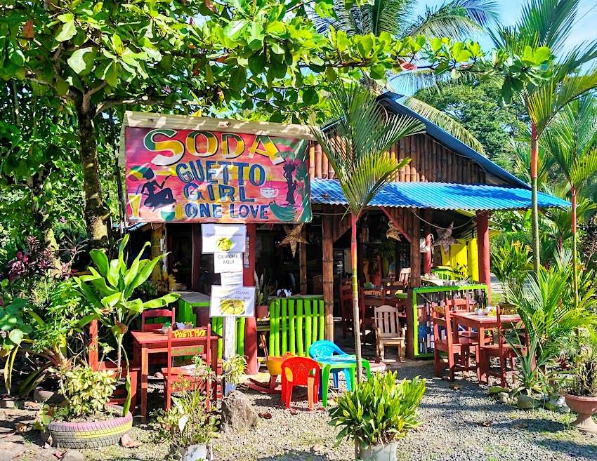 Restaurante tradicional costarricense Soda