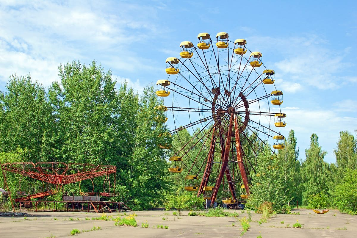 Sightseers will fly over Chernobyl to mark the disaster's 35th anniversary