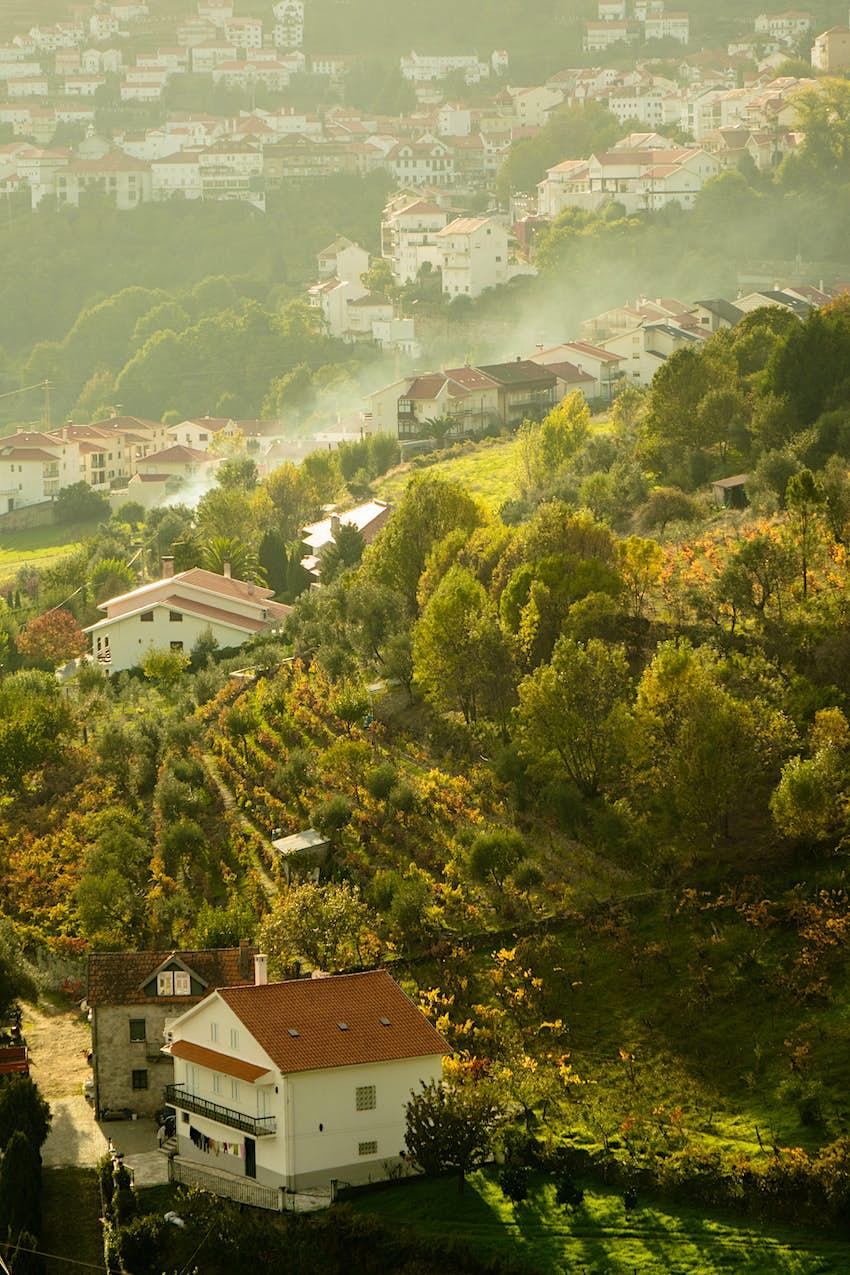 Village of Manteigas in Portugal