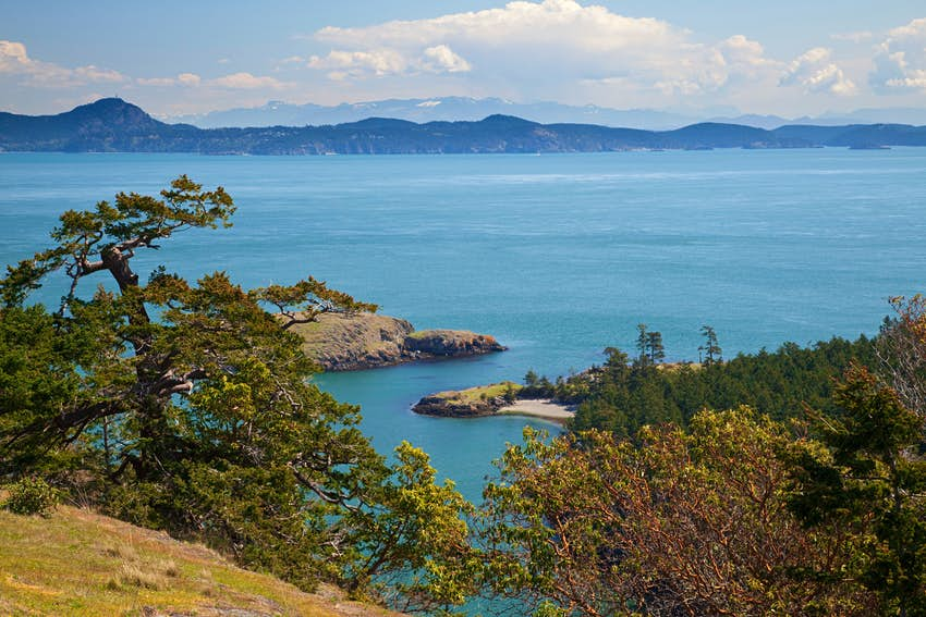 USA, Washington, San Juan Islands, Lopez Island, Watmough Head