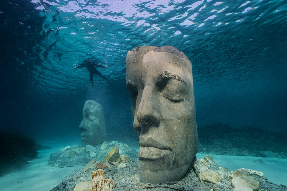 See sculptures below the surface at France's new underwater museum - Lonely Planet