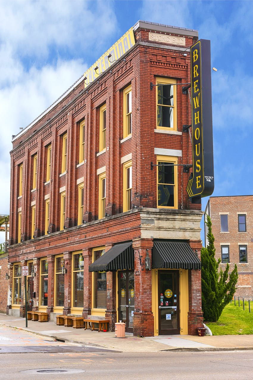 The Terminal Brewhouse pub and restaurant in Chattanooga, TN