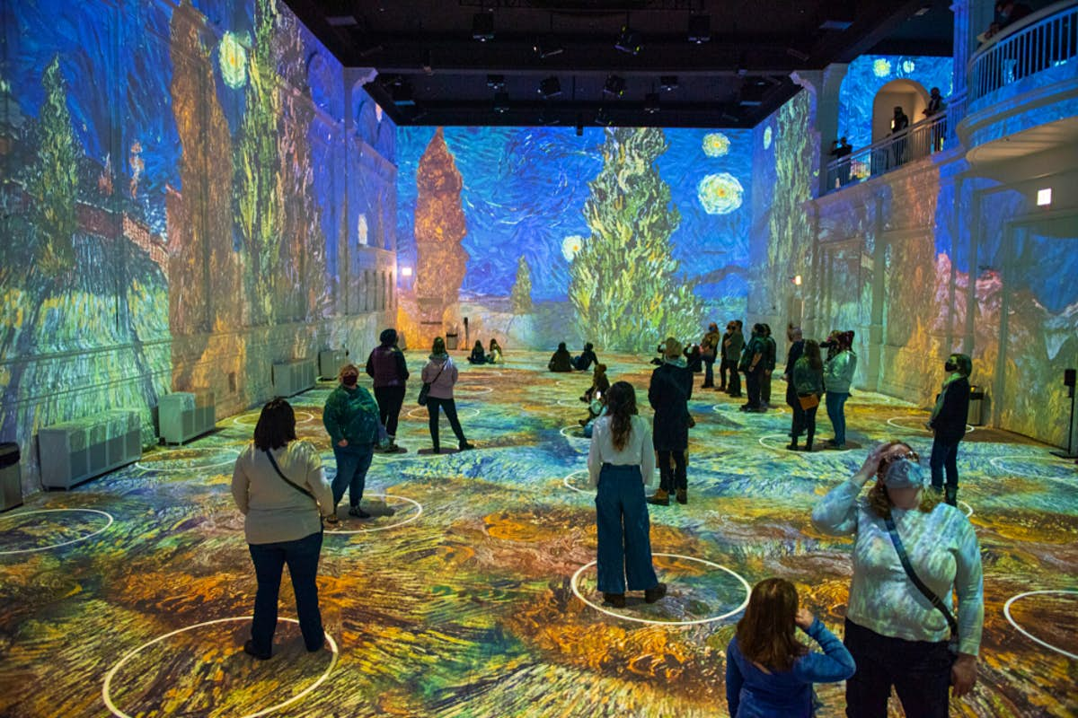 Immersive Vincent Van Gogh Exhibitions Are Coming To Venues In The Us And Canada Lonely Planet