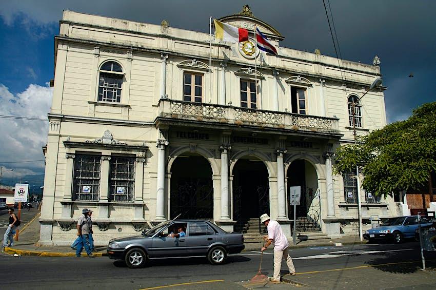 Post office in Heredia, Costa Rica, Central America