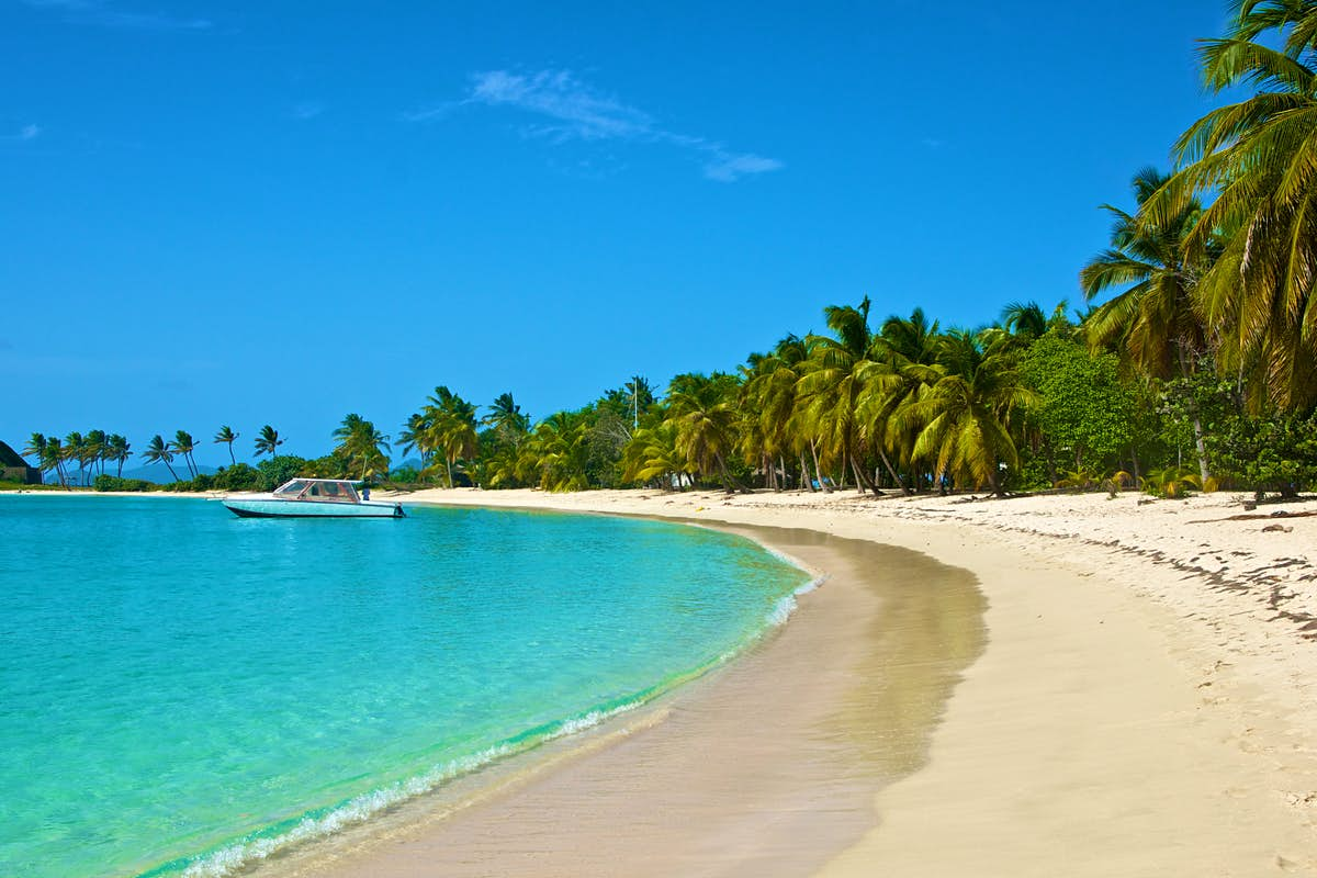 Top 17 beaches in the Caribbean