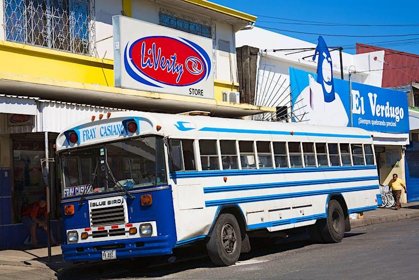 Bus Station, Puntarenas City, Costa Rica, Central America