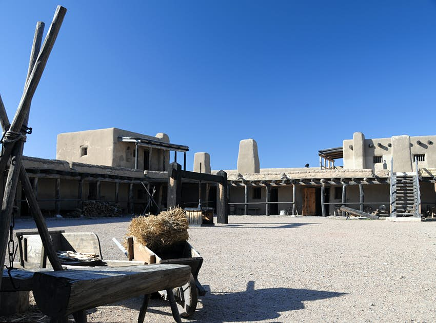 Bent's Fort SW Interior